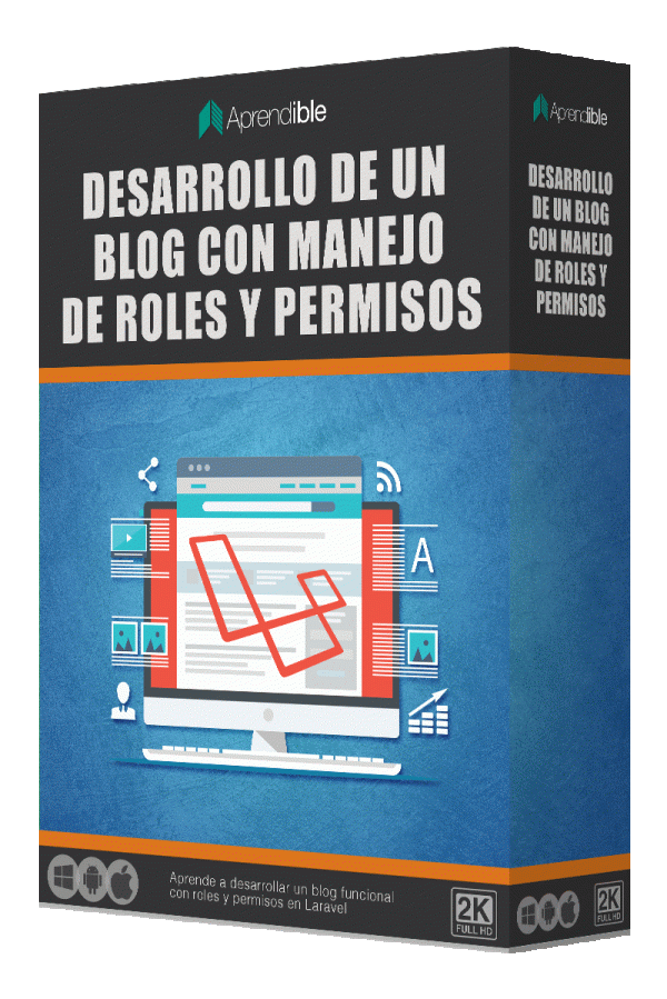 Desarrollo de un blog con manejo de roles y permisos